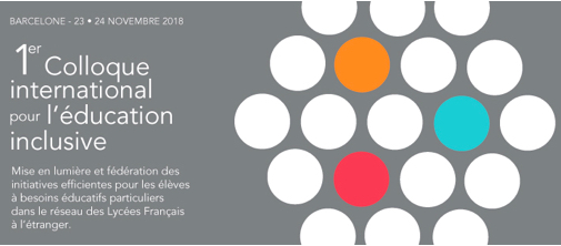 Rappel : Colloque International sur l'Éducation inclusive